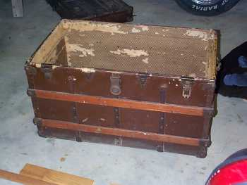 Old Trunk before Repairs